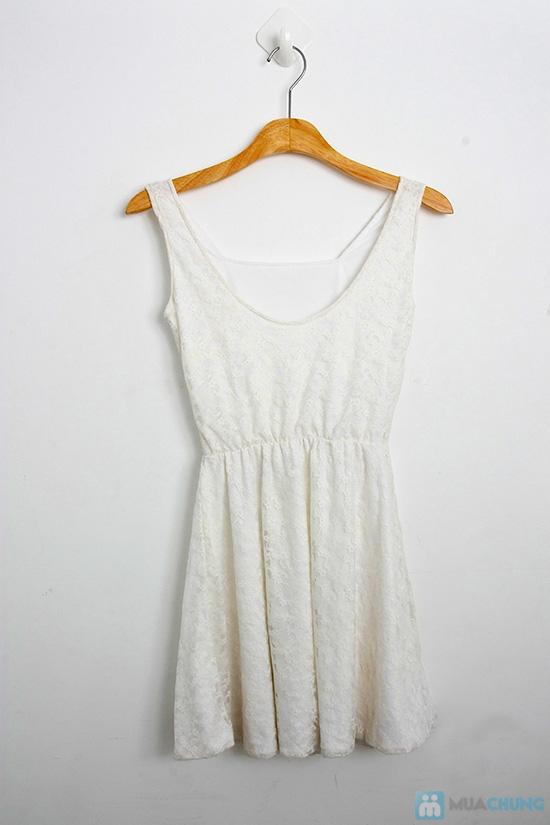 Đầm ren xòe nữ tính cho bạn gái - Chỉ 120.000đ - 1