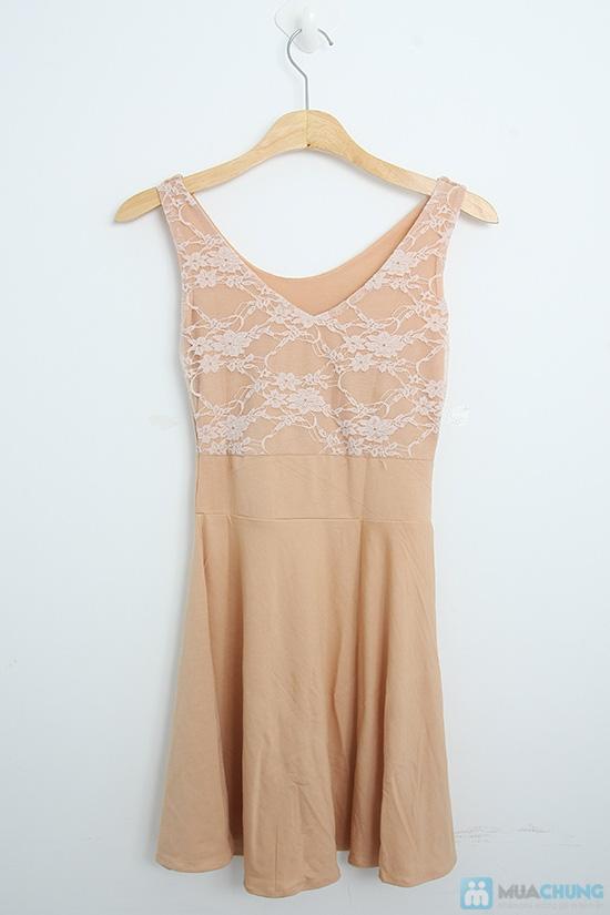 Đầm ren thun cách điệu dành cho bạn gái - Chỉ 105.000đ - 7