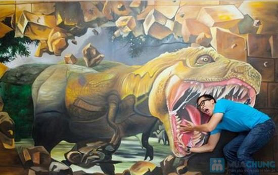 Phiếu vào cổng chụp hình 3D tại Nhà hát Bến Thành - Chỉ 50.000đ - 3