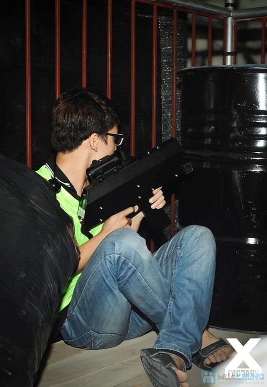 Bắn súng laze tại X-Factory - 2