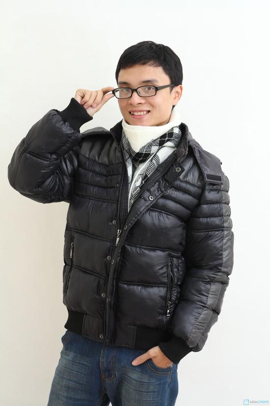 Áo khoác nam XK - hàng dày - lót Bông sợi - 5