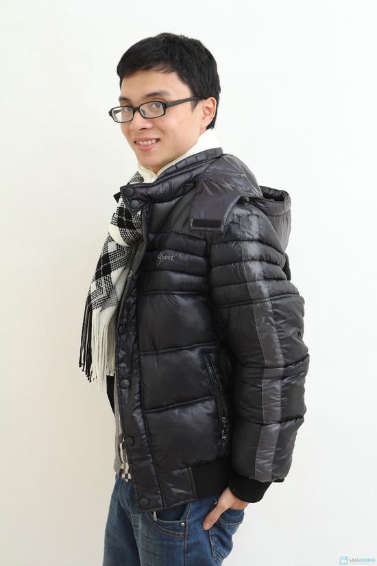 Áo khoác nam XK - hàng dày - lót Bông sợi - 3