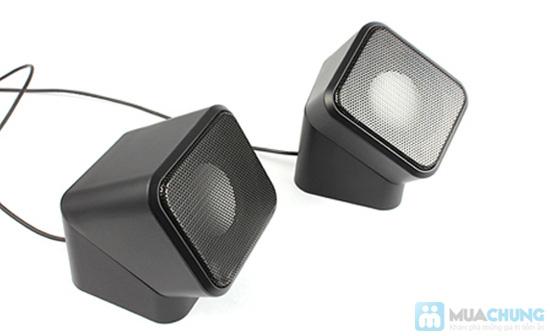 Loa Mini Speaker 3D Sound xoay 180 độ - Chỉ 102.000đ/01 bộ - 1