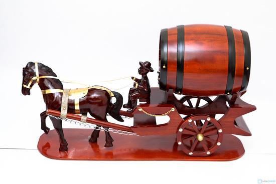 Xe ngựa để rượu vang - Chỉ với .000đ - 1
