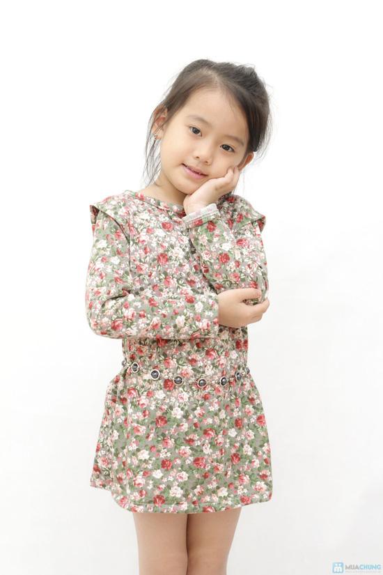 Combo 02 váy len họa tiết da báo cho bé - 3