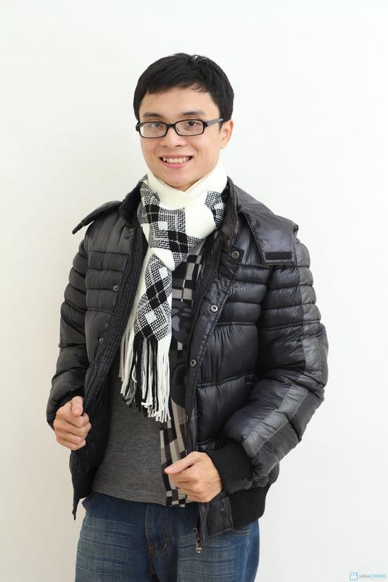 Áo khoác nam XK - hàng dày - lót Bông sợi - 2