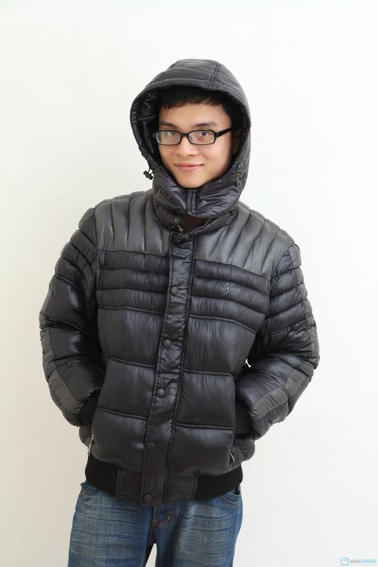 Áo khoác nam XK - hàng dày - lót Bông sợi - 1