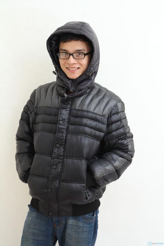Áo khoác nam XK - hàng dày - lót Bông sợi - 6