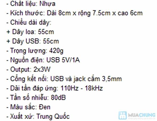 Loa Mini Speaker 3D Sound - Chỉ 102.000đ/01 bộ - 1