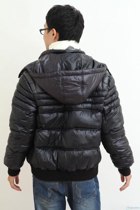 Áo khoác nam XK - hàng dày - lót Bông sợi - 4