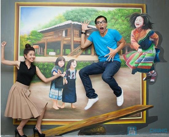Phiếu vào cổng chụp hình 3D tại Nhà hát Bến Thành - Chỉ 50.000đ - 6