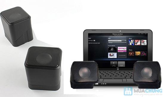 Loa Mini Speaker 3D Sound xoay 180 độ - Chỉ 102.000đ/01 bộ - 5
