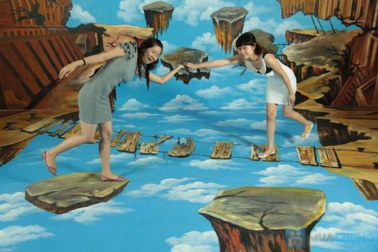 Phiếu vào cổng tham quan thế giới tranh 3D tại Nhà hát Bến Thành - Chỉ 50.000đ/01 phiếu - 1