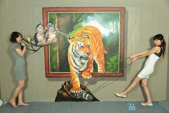 Phiếu vào cổng tham quan thế giới tranh 3D tại Nhà hát Bến Thành - Chỉ 50.000đ/01 phiếu - 3