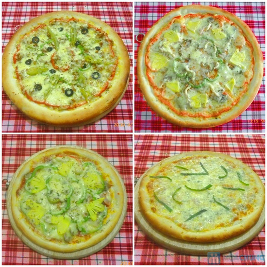 Thưởng thức Pizza cỡ lớn Size 30 cm theo phong cách Ý tại Nhà hàng LAMIA PIZZA - Chỉ 83.000đ - 1