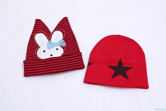 Combo mũ len giáng sinh cho mẹ và bé - 4
