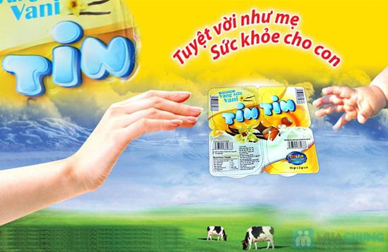 Combo 4 vỉ váng sữa Tin Tin - Bổ sung DHA và Vitamin B3 - 1