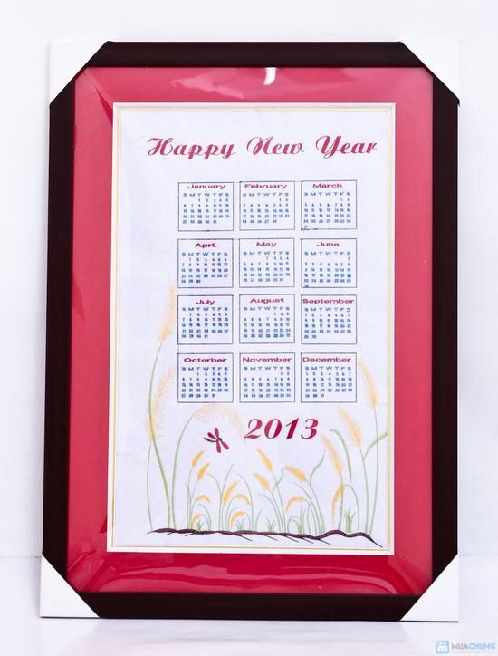 Đón năm mới cùng Tranh thêu lịch 2013 treo tường – Một cách trang trí nhà cửa độc đáo - Chỉ với 305.000đ - 6