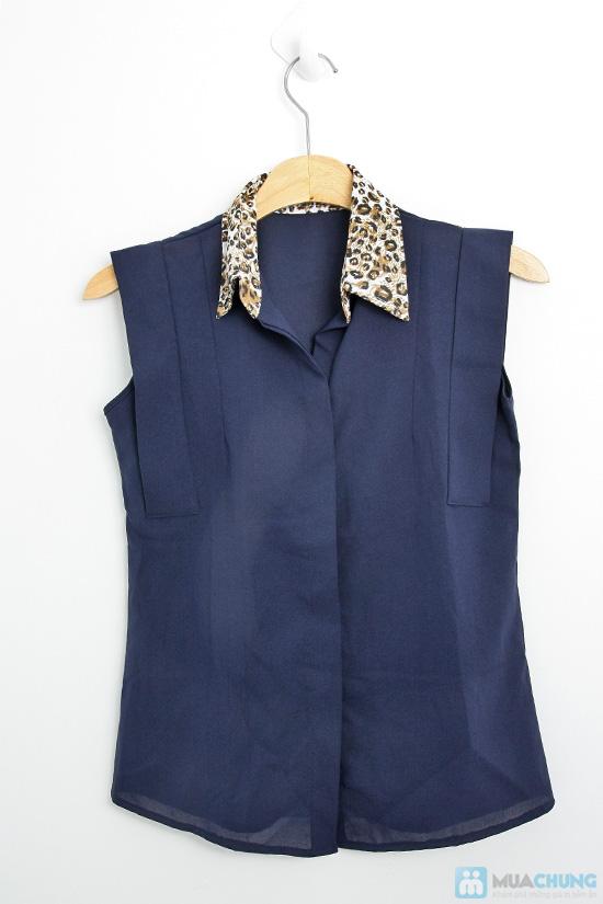 Trẻ trung và nữ tính với áo sơ mi tay vuông xinh xắn dành cho bạn gái - Chỉ 99.000đ/01 chiếc - 1