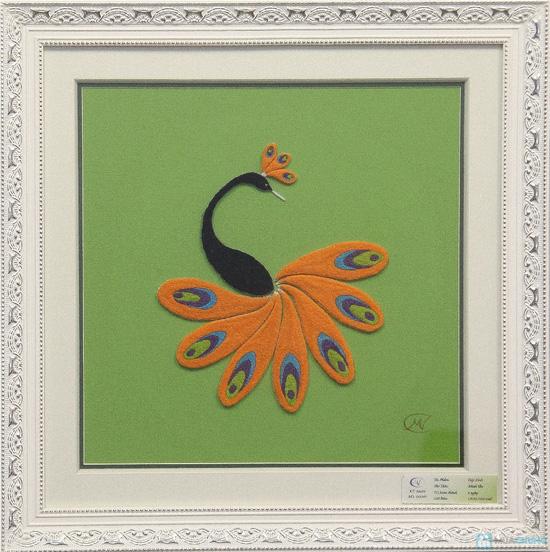 Tranh Thêu Thụt - Tinh hoa nghệ thuật thêu tranh thủ công, món quà Tết đầy ý nghĩa - Chỉ 150.000đ được phiếu 275.000đ - 2