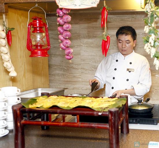 Buffet Giáng sinh 100 món Âu Á, Lẩu thập cẩm,Nướng tại Khách sạn Prestige - Chỉ với 530.000đ - 50