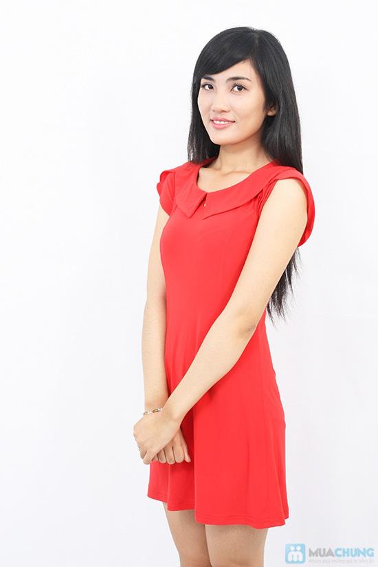 Đầm thun tay cánh hồng xinh xắn - Cho bạn gái thêm lựa chọn khi xuống phố - Chỉ 135.000đ/01 chiếc - 10