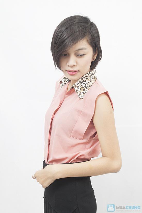 Trẻ trung và nữ tính với áo sơ mi tay vuông xinh xắn dành cho bạn gái - Chỉ 99.000đ/01 chiếc - 2