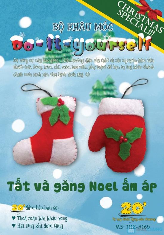 Bộ kit khâu vải dạ handmade - Quà tặng Giáng sinh dễ thương và ý nghĩa cho người thân - 2