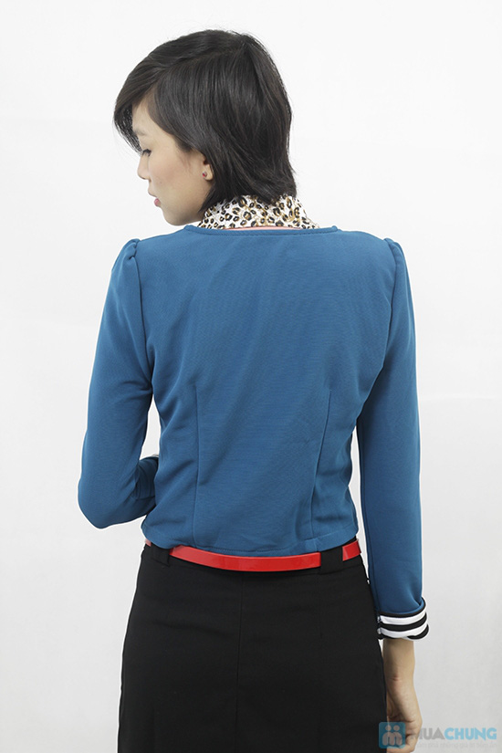Áo khoác tay lật phong cách Hàn Quốc, cho bạn gái thật trẻ trung, quyến rũ - Chỉ 110.000đ/chiếc - 7