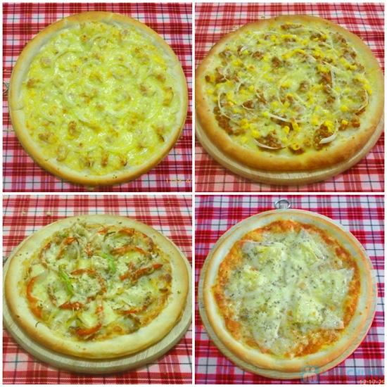 Thưởng thức Pizza cỡ lớn Size 30 cm theo phong cách Ý tại Nhà hàng LAMIA PIZZA - Chỉ 79.000đ - 2