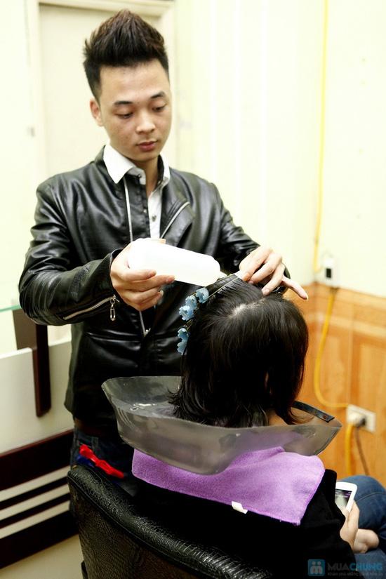Cắt+Nhuộm+Hấp, Cắt+Uốn+Hấp tại Salon Nguyễn Phương - Chỉ với 200.000 đ - 5