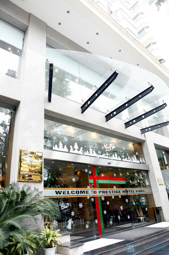 Buffet Giáng sinh 100 món Âu Á, Lẩu thập cẩm,Nướng tại Khách sạn Prestige - Chỉ với 530.000đ - 31