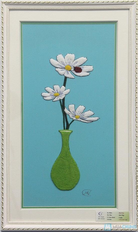 Tranh Thêu Thụt - Tinh hoa nghệ thuật thêu tranh thủ công, món quà Tết đầy ý nghĩa - Chỉ 150.000đ được phiếu 275.000đ - 1