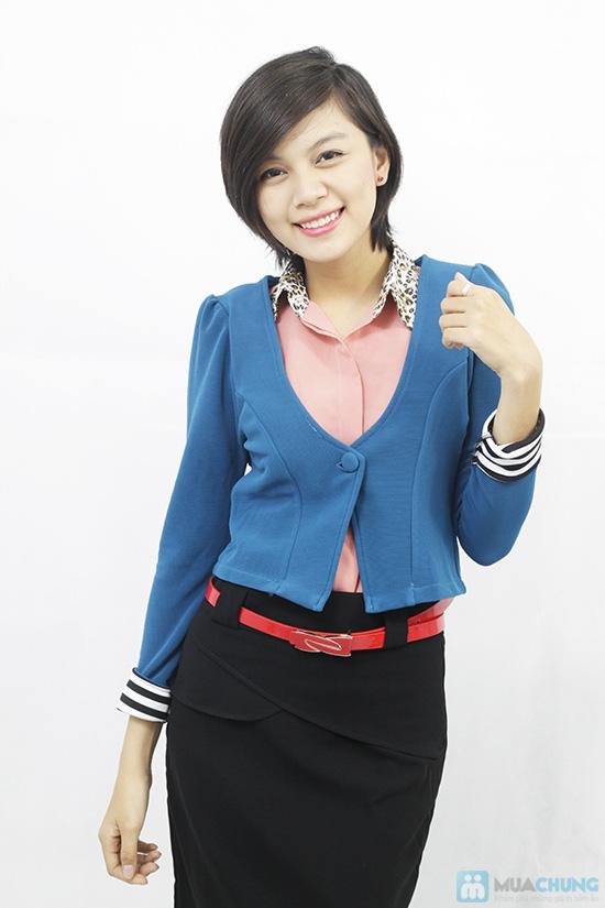 Áo khoác tay lật phong cách Hàn Quốc, cho bạn gái thật trẻ trung, quyến rũ - Chỉ 110.000đ/chiếc - 4