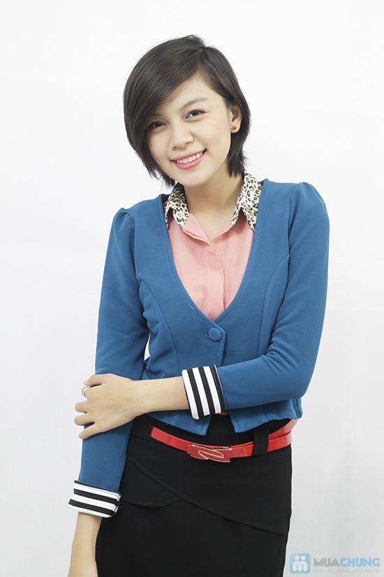 Áo khoác tay lật phong cách Hàn Quốc, cho bạn gái thật trẻ trung, quyến rũ - Chỉ 110.000đ/chiếc - 6