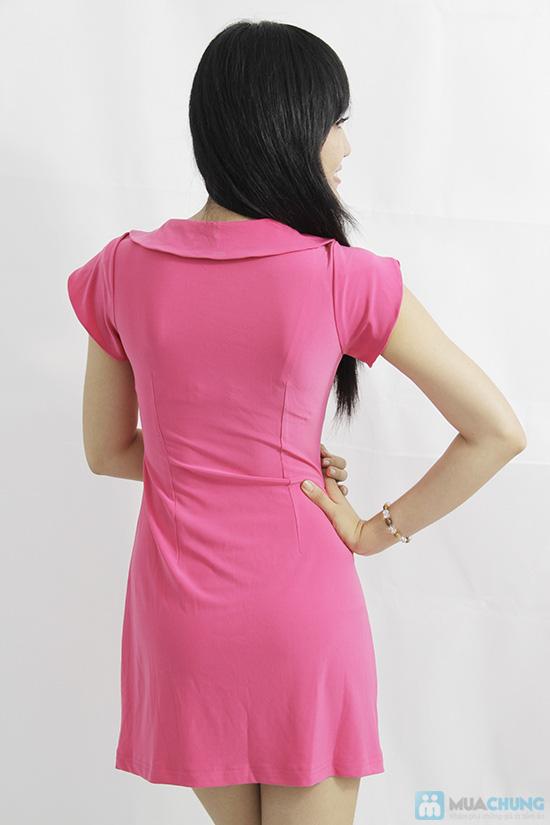 Đầm thun tay cánh hồng xinh xắn - Cho bạn gái thêm lựa chọn khi xuống phố - Chỉ 135.000đ/01 chiếc - 3