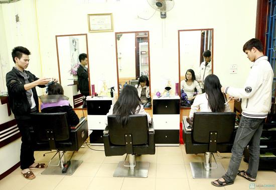 Cắt+Nhuộm+Hấp, Cắt+Uốn+Hấp tại Salon Nguyễn Phương - Chỉ với 200.000 đ - 6