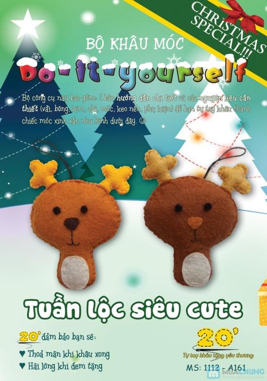 Bộ kit khâu vải dạ handmade - Quà tặng Giáng sinh dễ thương và ý nghĩa cho người thân - 3