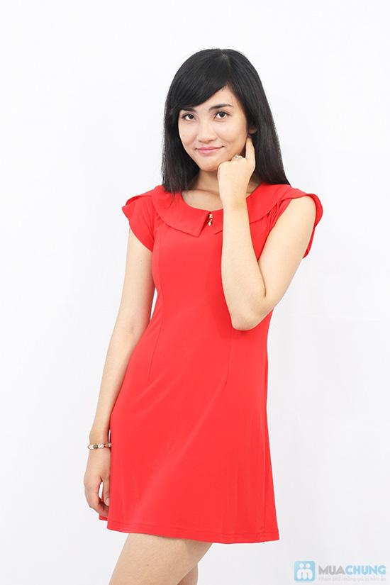 Đầm thun tay cánh hồng xinh xắn - Cho bạn gái thêm lựa chọn khi xuống phố - Chỉ 135.000đ/01 chiếc - 11