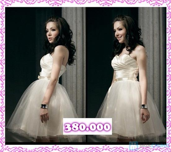 Phiếu mua đầm xòe công chúa và đầm cưới ngắn chụp ngoại cảnh tại Shop LILYKISS - Chỉ 85.000đ được phiếu 200.000đ - 13