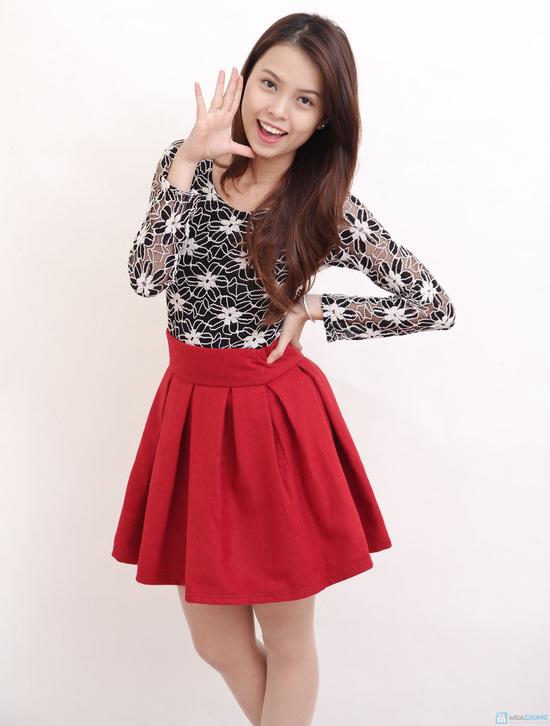 Chân váy dạ xòe Hàn Quốc - Chỉ với 145.000đ - 7