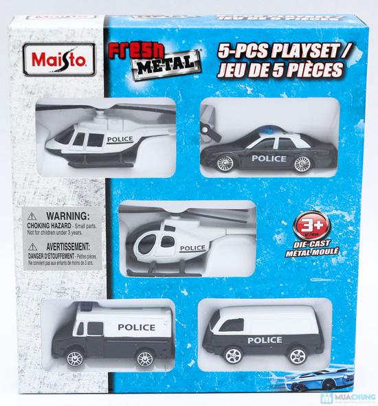 Bộ mô hình 5 xe ô tô cho bé yêu - Độc đáo, giúp bé thêm hiểu biết về thế giới xung quanh - 2