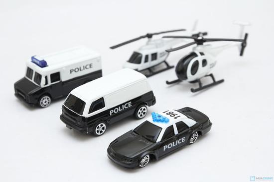 Bộ mô hình 5 xe ô tô cho bé yêu - Độc đáo, giúp bé thêm hiểu biết về thế giới xung quanh - 4