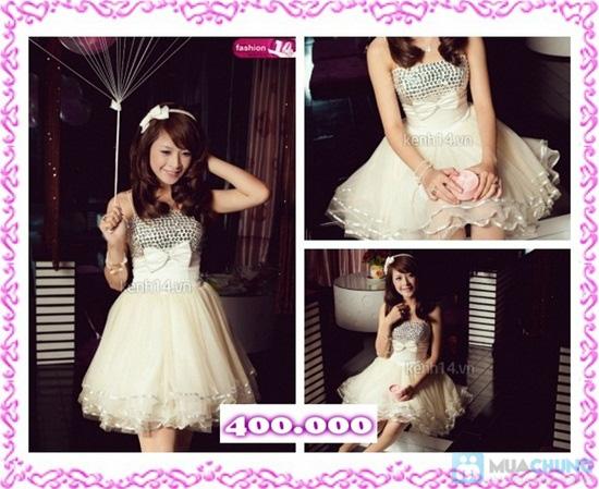 Phiếu mua đầm xòe công chúa và đầm cưới ngắn chụp ngoại cảnh tại Shop LILYKISS - Chỉ 85.000đ được phiếu 200.000đ - 9