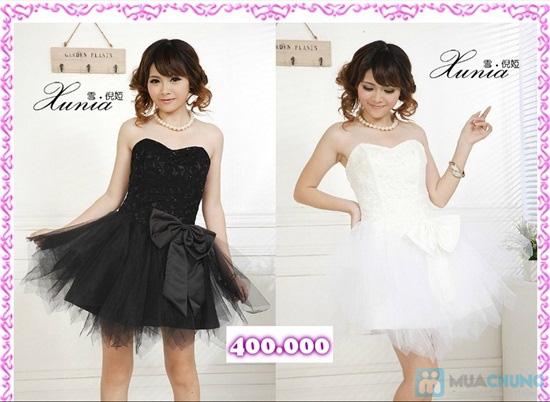 Phiếu mua đầm xòe công chúa và đầm cưới ngắn chụp ngoại cảnh tại Shop LILYKISS - Chỉ 85.000đ được phiếu 200.000đ - 1