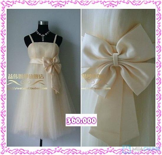 Phiếu mua đầm xòe công chúa và đầm cưới ngắn chụp ngoại cảnh tại Shop LILYKISS - Chỉ 85.000đ được phiếu 200.000đ - 11