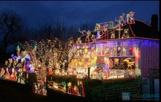02 dây đèn LED trang trí Noel và ngày Tết - Chỉ 49.000đ/ 01 combo - 1