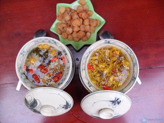 Thưởng thức trà đạo, long nhãn dành cho 02 người tại Tĩnh Hiên Trà - Chỉ với 50.000đ - 1