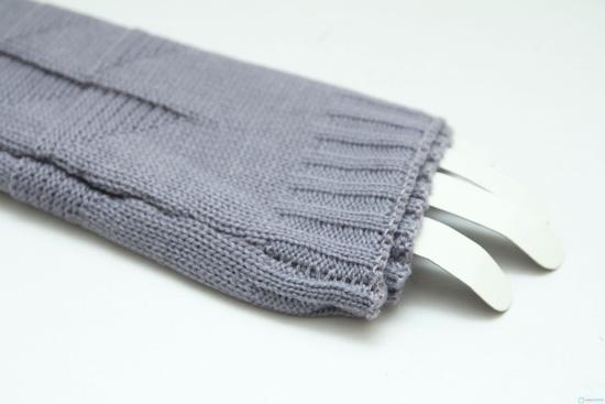 Găng tay len dài hở ngón - 3