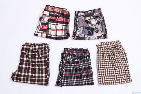 Combo 2 quần thun họa tiết thời trang - 1